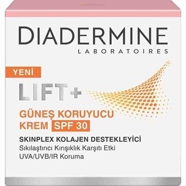 Diadermine  Lift SPF 30 Güneş Koruyucu Krem 50ml Renksiz